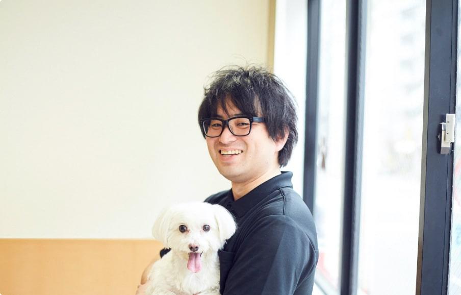 トリミートインタビュー:田中さんがペットサロン経営者だった時代のお写真