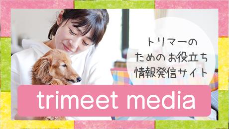 trimeet運営事務局が運営するトリマーのためのお役立ち情報発信サイトtrimeet media(トリミートメディア)
