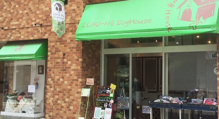 おしゃれな街中目黒の親しみやすいサロン「中目黒2丁目ドッグハウス」