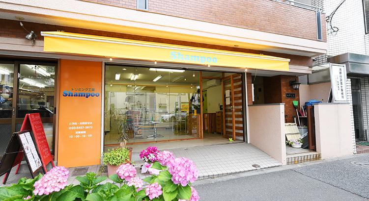 トリマーの個性が輝くお店 トリミング工房「Shampoo」早稲田店
